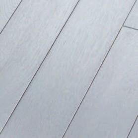 Parquet chêne extrême brossé blanc