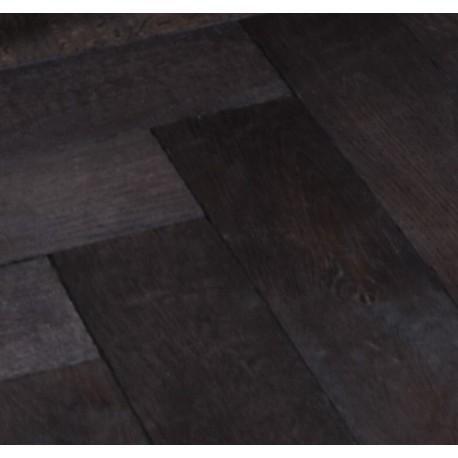 Parquet contrecollé chêne noir intense