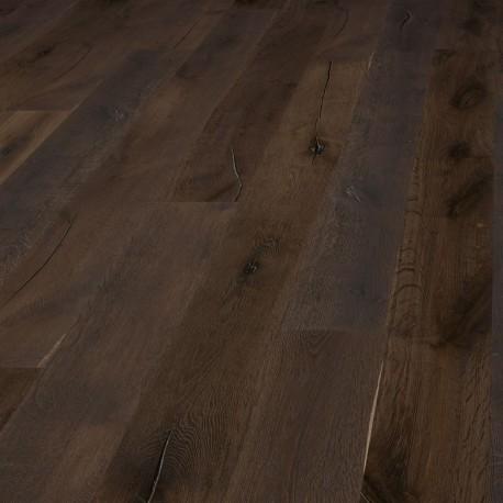 Chêne contrecollé rustique Huilé Dark Brown