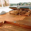 Lames de terrasses deck teck d'Asie