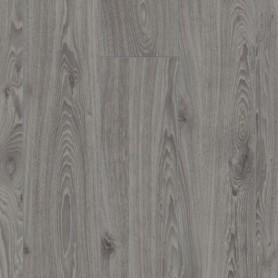 Sol stratifié parquet Chêne Intemporel gris flottant